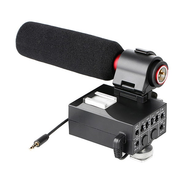 Saramonic 2-Channnel XLR Adapter with Gain Control
