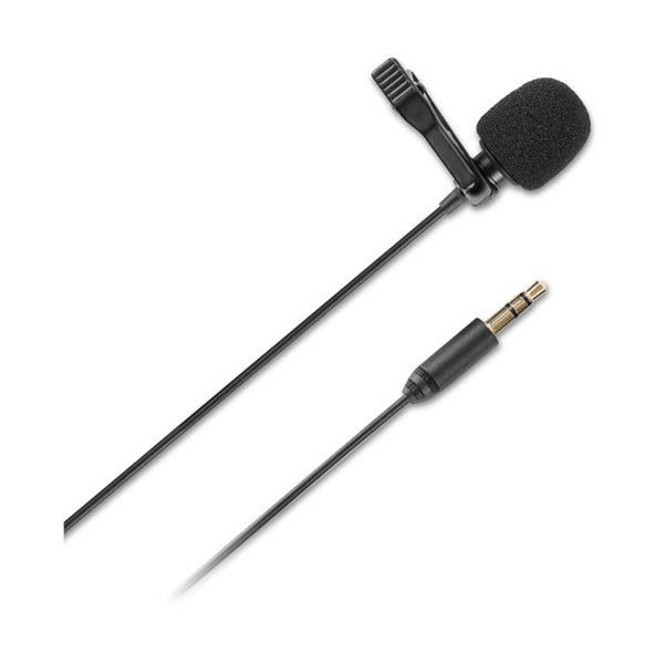 Saramonic SR-XLM1 Omnidirectional Broadcast-Quality Lavalier Microphone with 3.5mm TRS Connector