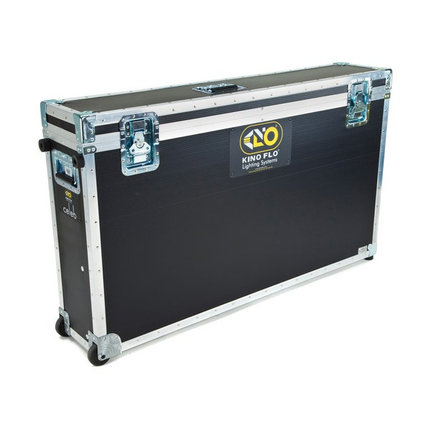 Kino Flo Celeb 850 Yoke Wheeled Ship Case - Black