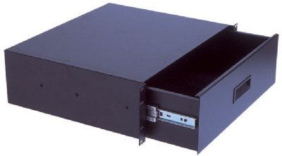3 Space Drawer with Sliding Latch NO. RD300R