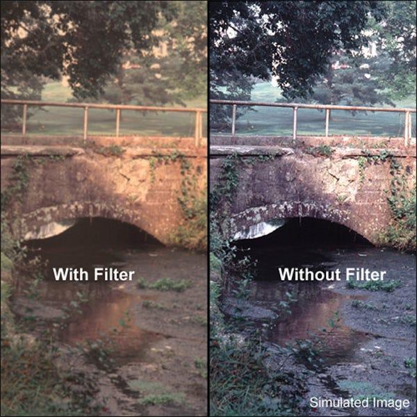 "Tiffen 4 x 5.65"" Warm Pro-Mist 2 Filter"
