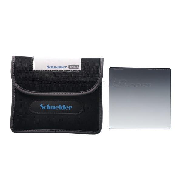 """Schneider Optics 4 x 4"""" Neutral Density (ND) 1.2 Attenuator Water White Glass Filter"""