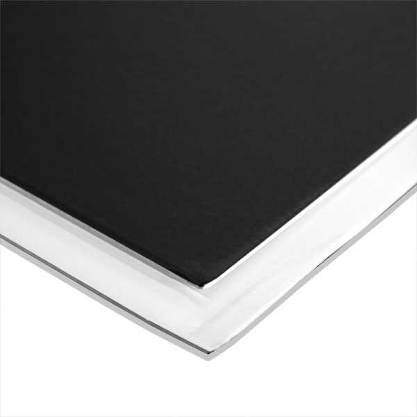 """Foam Core 3/16"""" - White/Matte Black - 48 x 96"""" - 25 Sheets"""