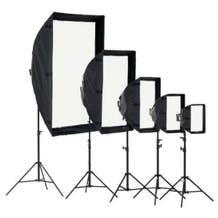 Chimera Small Shallow Video Pro +3 Lightbank 8025