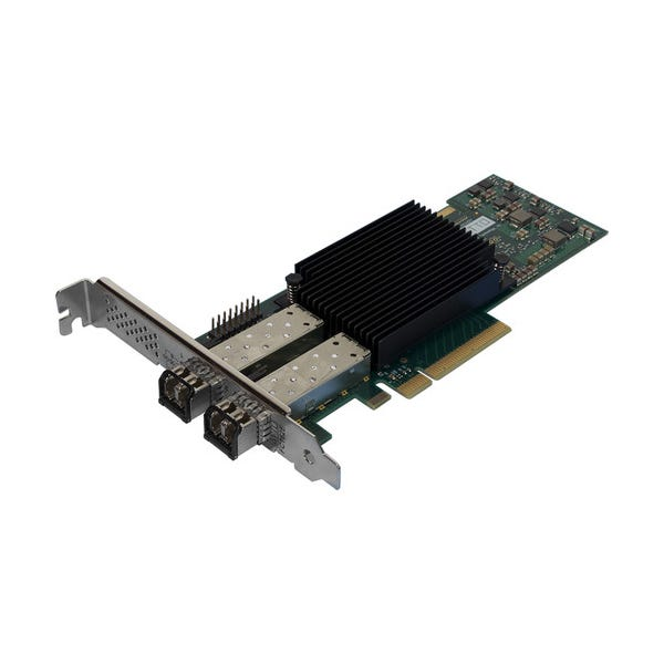 ATTO Technology Celerity Dual-Channel 16 Gb/s Fiber-Channel PCIe 3.0 Host Bus Adapter with 2 x SFP+ Transceivers