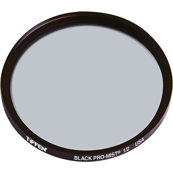 "Tiffen 4.5"" Round Black Pro-Mist 1/2 Filter"