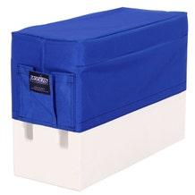 Modern Apple Box Horizontal Seat Cover - Blue