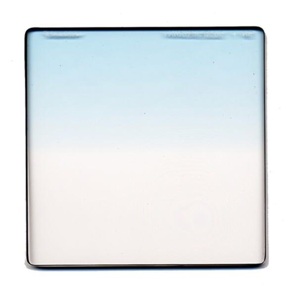 "Schneider Optics 6.6 x 6.6"" Graduated Paradise Blue 1 Water White Glass Filter - Soft Edge"