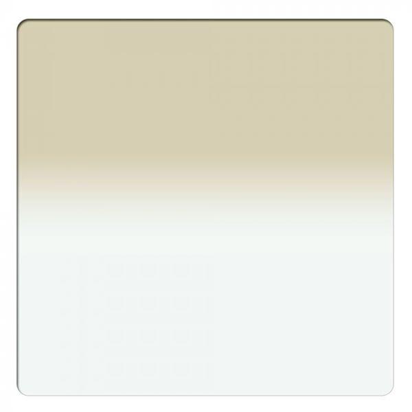 """Schneider Optics 6.6 x 6.6"""" Graduated Antique Suede 1 Water White Glass Filter"""