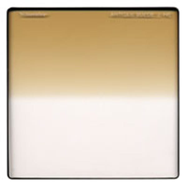 "Schneider Optics 6.6 x 6.6"" Graduated Antique Suede 2 Water White Glass Filter"
