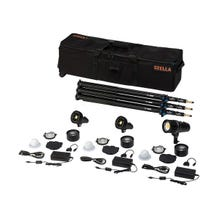 Light & Motion Stella Pro 225 5000 SP/ 2000 3-Light Kit with Accessories - 5000K