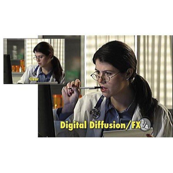 "Tiffen 4 x 5.65"" Digital Diffusion/FX 1/4 Filter"