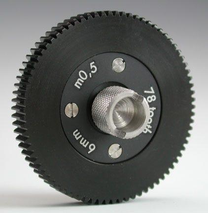 Canon Arri Follow Focus Gear 6mm m0,5 78 tooth. 381570