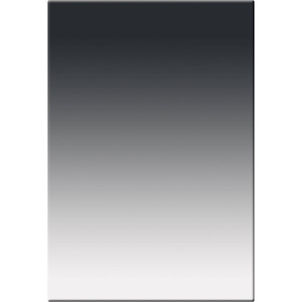 "Tiffen 4 x 5.65"" Soft Edge Graduated Neutral Density (ND) 0.9 Filter - Vertical Orientation"