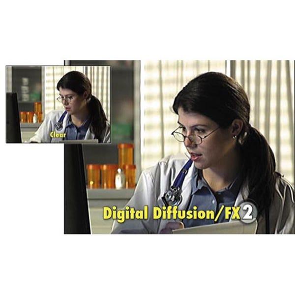 "Tiffen 6.6 x 6.6"" Digital Diffusion/FX 2 Filter"