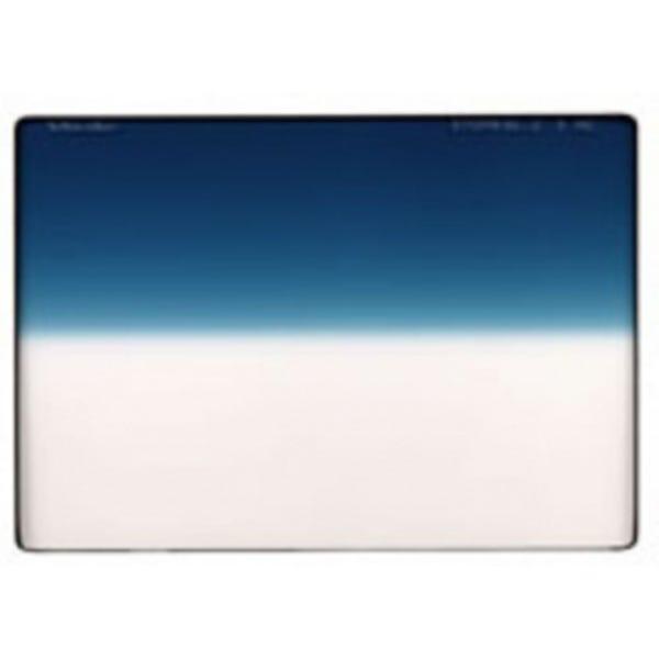"Schneider Optics 4 x 5.65"" Graduated Paradise Blue 1 Water White Glass Filter - Soft Edge with Vertical Orientation"