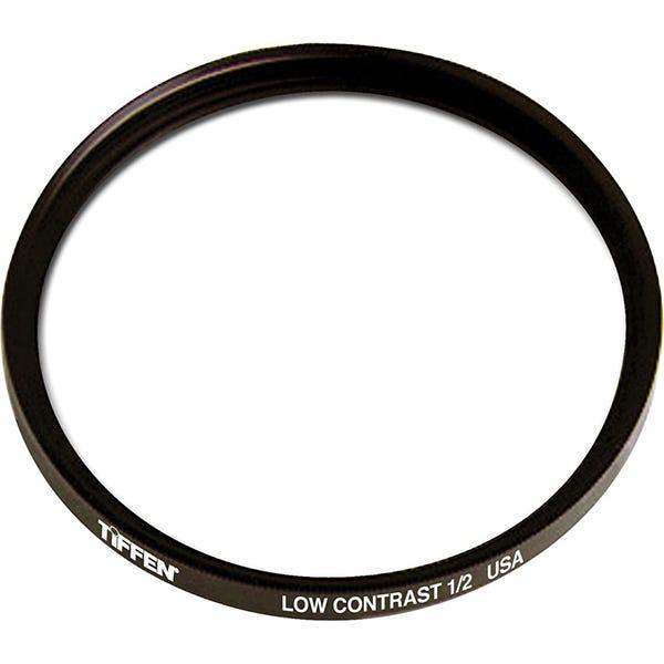 "Tiffen 4.5"" Round Low Contrast 1/2 Filter"