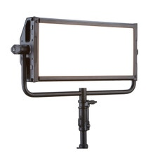 Litepanels Gemini 2x1 Bi-Color LED Soft Panel - Pole-Operated Yoke - Bare Ends Cable