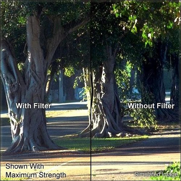 "Tiffen 5.65 x 5.65"" Soft Contrast 1 Filter"