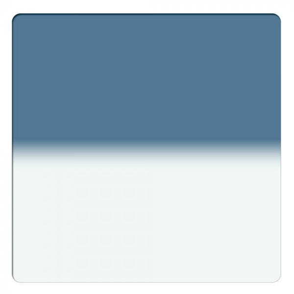 """Schneider Optics 6.6 x 6.6"""" Solid Color Storm Blue 1 Water White Glass Filter"""