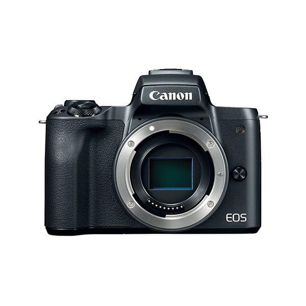 Canon EOS M50 Mirrorless Digital Camera (Body Only, Black)