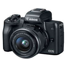 Canon EOS M50 Mirrorless Digital Camera with 15-45mm Lens (Various)
