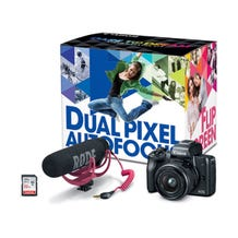 Canon EOS M50 Mirrorless Digital Camera with 15-45mm Lens Video Creator Kit (Black)