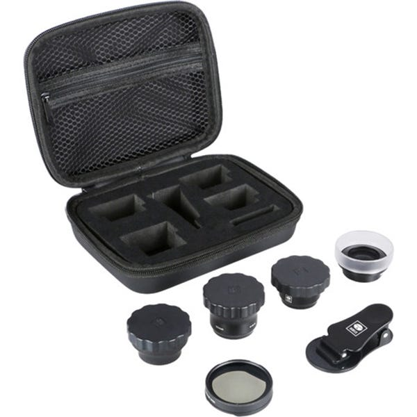 the best attitude 3a8b6 f7273 Sirui 4-Lens Kit (Black Wide-Angle, Portrait, Macro, Fisheye, and Circular  Polarizer)
