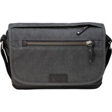 Tenba Cooper 8 Messenger Bag with Leather Accents - Grey