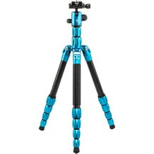 MeFoto BackPacker S Aluminum Travel Tripod - Blue
