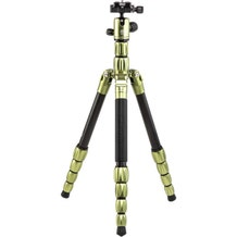 MeFoto BackPacker S Carbon Fiber Travel Tripod - Green