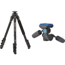 Benro TAD18AHD1A Series 1 Adventure Aluminum Tripod with HD1A Pan and Tilt Head