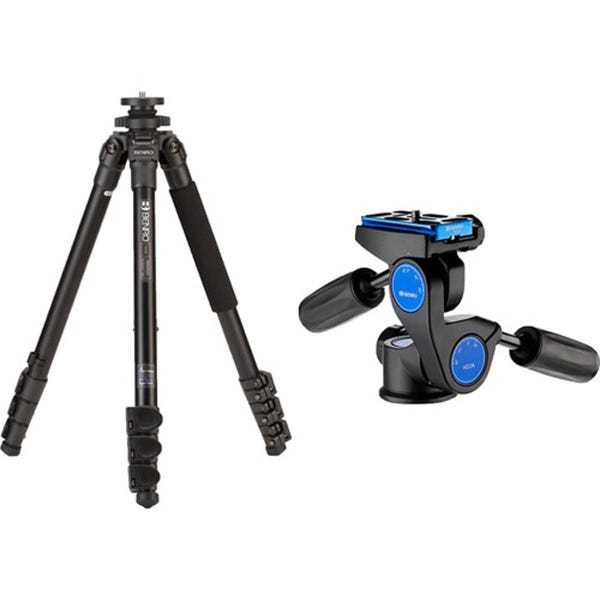 Benro TAD28AHD2A Series 2 Adventure Aluminum Tripod with HD2A Pan and Tilt Head