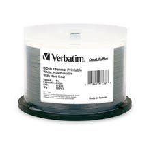 Verbatim 6X White Thermal Printable 25GB Blu-Ray - 50pc