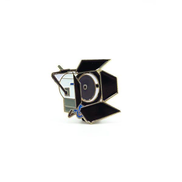Film Pin Society 4K HMI Light Enamel Pin