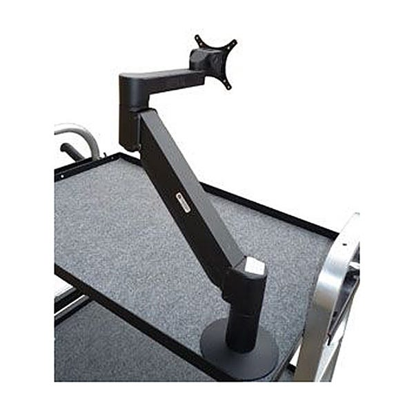 Backstage Light Duty 9-24 lb Monitor Arm - Black