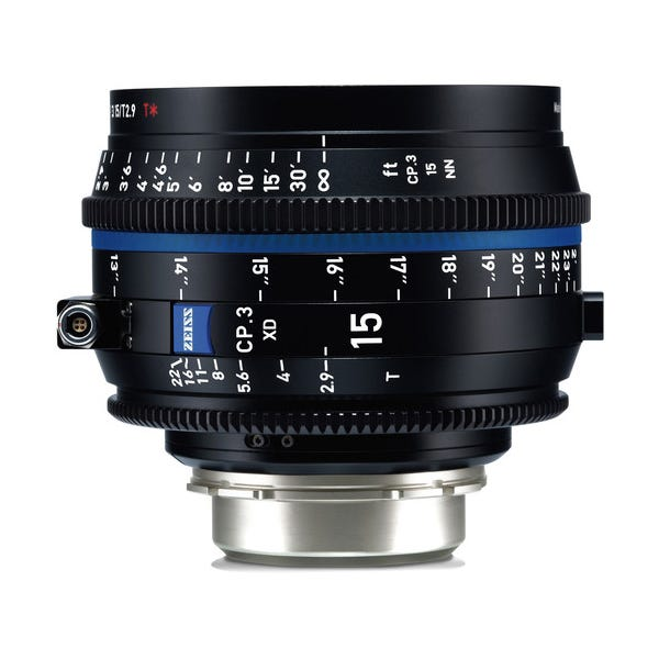Zeiss CP.3 XD 15mm T2.9 Compact Prime Lens - PL Mount