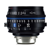 Zeiss CP.3 XD 35mm T2.1 Compact Prime Lens - PL Mount
