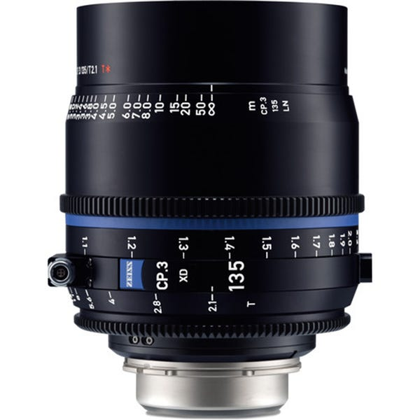 Zeiss CP.3 XD 135mm T2.1 Compact Prime Lens - PL Mount