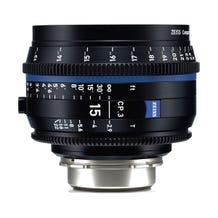 Zeiss CP.3 15mm T2.9 Compact Prime Lens - PL Mount