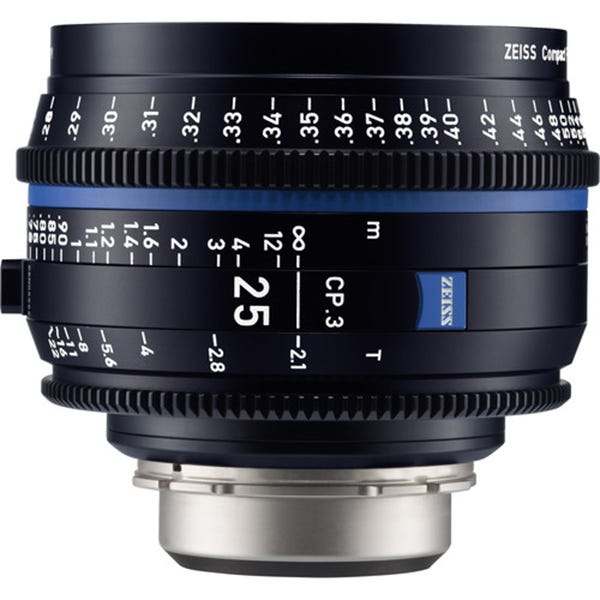 Zeiss CP.3 25mm T2.1 Compact Prime Lens - EF Mount