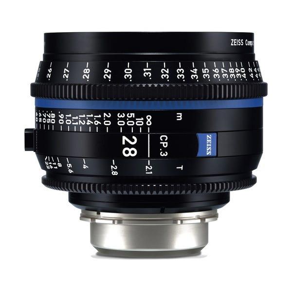 Zeiss CP.3 28mm T2.1 Compact Prime Lens - PL Mount