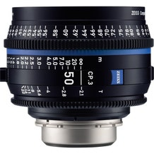 Zeiss CP.3 50mm T2.1 Compact Prime Lens - E Mount