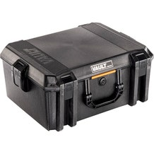 Pelican V550 Vault Case w/ Foam - Black