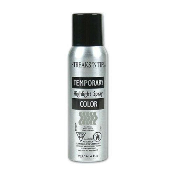 Streaks N Tips Temporary Color Highlight Spray - Icy White