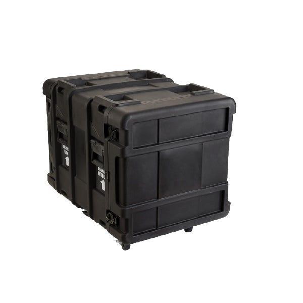 "SKB 3SKB R910U24 10 Space ATA Roto-Molded Shock 24"" Rack Shipping Case"