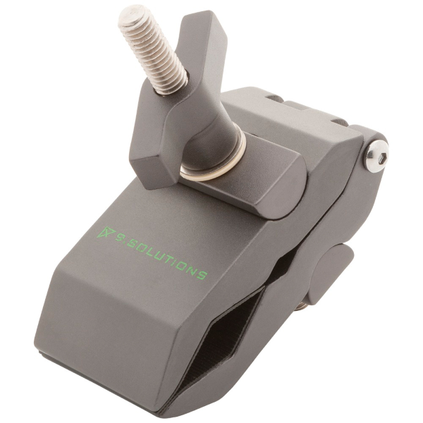 """9.Solutions Python Clamp with 3/8"""" Male Thread"""