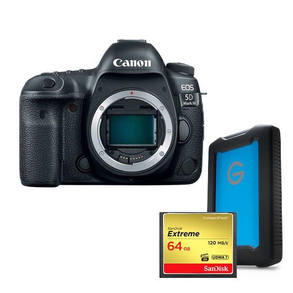Canon EOS 5D Mark IV Body Filmmaker Bundle