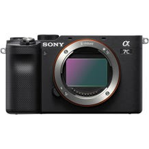 Sony Alpha 7C Full-Frame Compact Mirrorless Camera - Black - Body Only