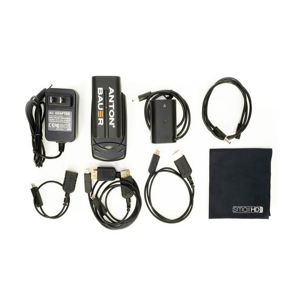 SmallHD Panasonic DMW-BLF19 Power Pack for Panasonic GH4 or GH5 Cameras with FOCUS 5 Monitor